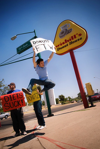 ShalerJump if you <3 Donuts - Jumping on the Day of the Donut -  Phoenix AZ | by ACME-Nollmeyer