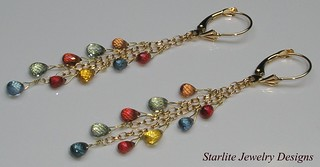 Starlite Jewelry Designs - Briolette Earrings - Jewelry Design | by Naomi King