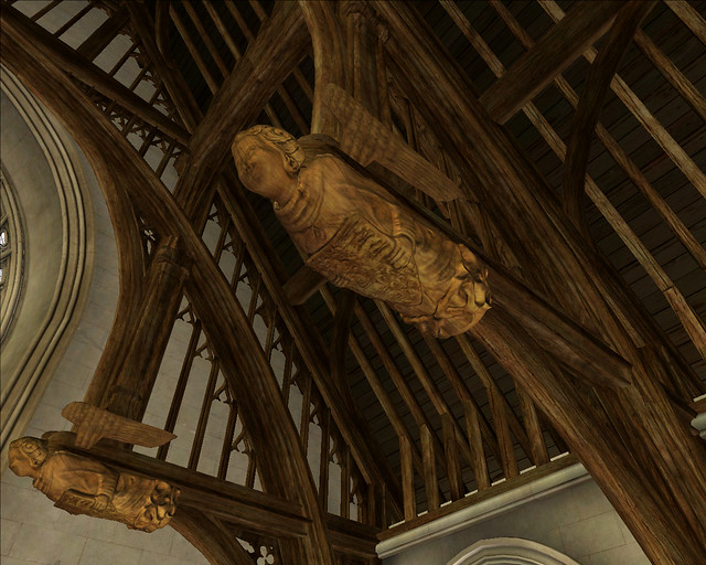 Westminster Hall Virtual Tour 1400 Roof Angels Six