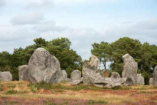 The menhirs of Carnac | by F.d.W.