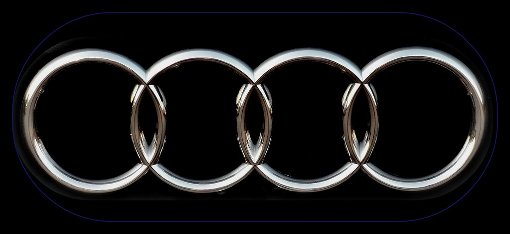 Audi emblem, logo, AUDI AG 85045 Ingolstadt, Audi, brand