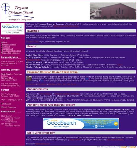 Ferguson Christian Church † Growing in the Hearts of Ferguson_1225224308330   by ArcoJedi