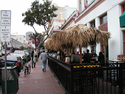 5th Avenue in the Gaslamp Quarter - San Diego, CA | by neighborhoods.org