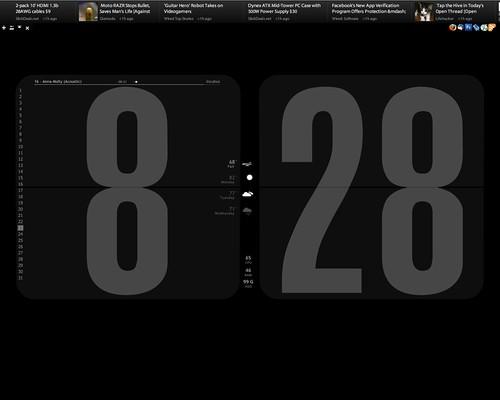 Flip Clock | UPDATE: Download my Flip Clock Rainmeter port o… | Flickr
