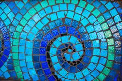 Mosaic Scroll   by Ali Harrison