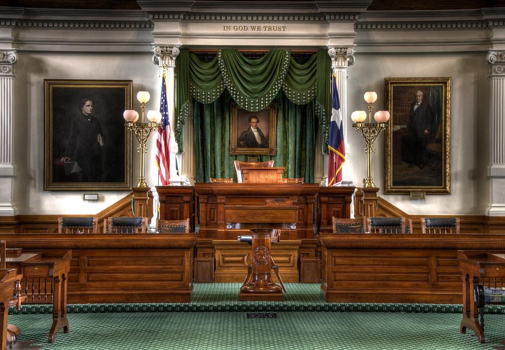 Texas State Senate Dais