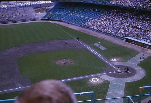 Metropolitan Stadium Minneapolis 1963