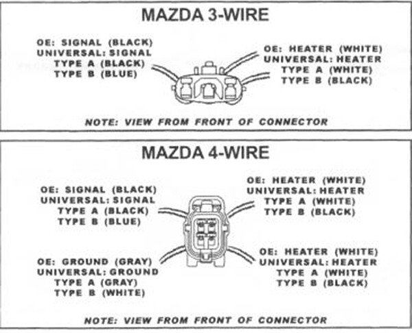 Mazda Oem Oxygen Sensor
