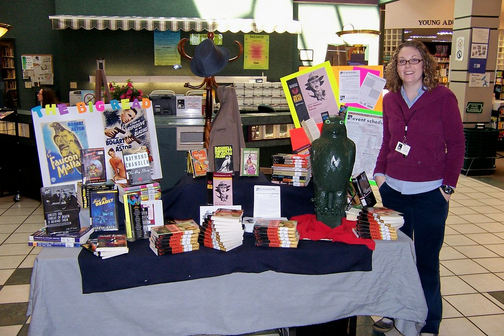 Madisons Central Library Today Heres >> Big Read Display Mary Kate Quillivan Shown Here Put Toge Flickr