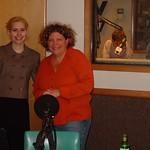 Tue, 29/03/2005 - 4:35pm - Nellie McKay in WFUV's Studio A with Rita Houston