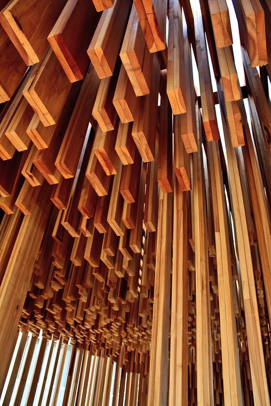 Wooden pavilion, South Bank