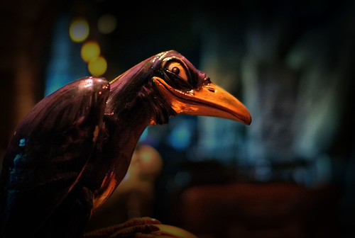 Disney - 13 Nights of Halloween - The Grinning Raven   by Express Monorail
