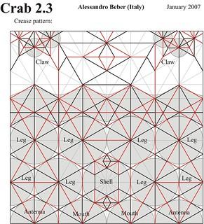 Crab 2.3 CP | by ale_beber_origami