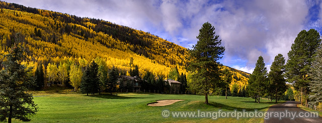 Vail Golf Course Panorama