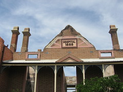 Ruins of the old Bega hospital