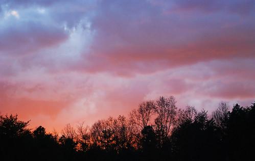 autumn light sunset sky fall beautiful clouds