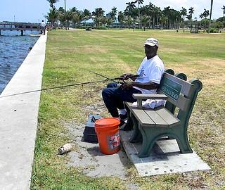 Seated Fisherman