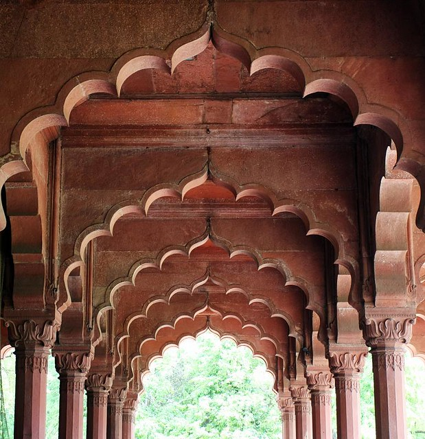 Diwan-i-Aam at Delhi Fort - Islamic Architecture in India