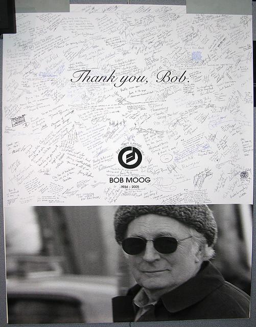 Bob Moog Tribute Poster