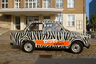 Side of our Trabant | by ilovebutter