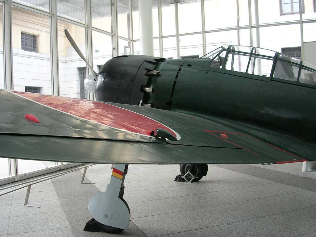 A6M5 Zero at Yasukuni Shrine