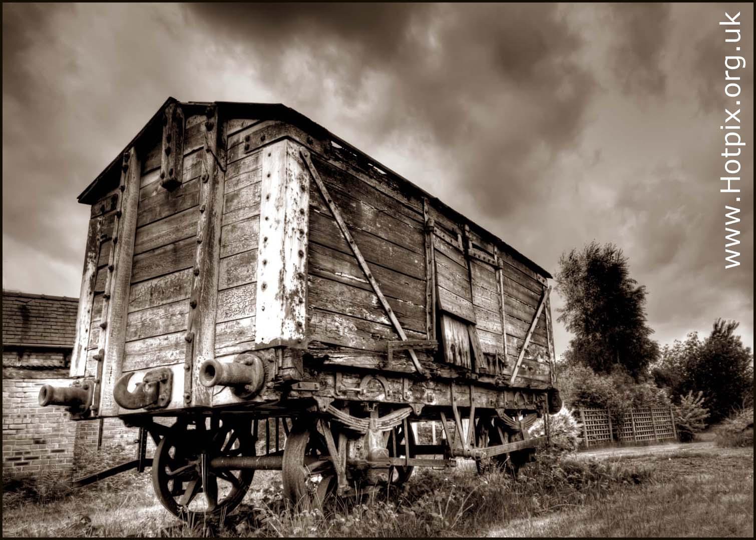 Salt Van,lion salt works,Marston,Northwich,Cheshire,salt,wagon,van,village,rail,railway,track,tracks,wood,buffers,railroad,road,old,decaying,texture,textured,transport,rusting,rusted,black,white,sepia,toned,monochrome,preservation,lion,works,UK,GB,britain,England,wich,town,towns,tourist,attraction,hotpix,hotpixuk,tonysmith,tony,smith,wooden,this photo rocks,B/W,mono,HDR,high dynamic range,#TonySmithHotpix