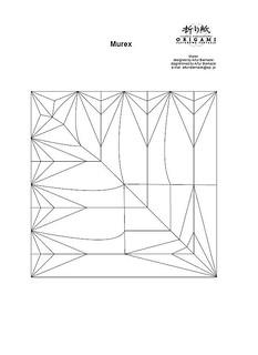 Murex , crease pattern. | by Arturori
