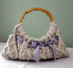 knitted white bag | by minidreams