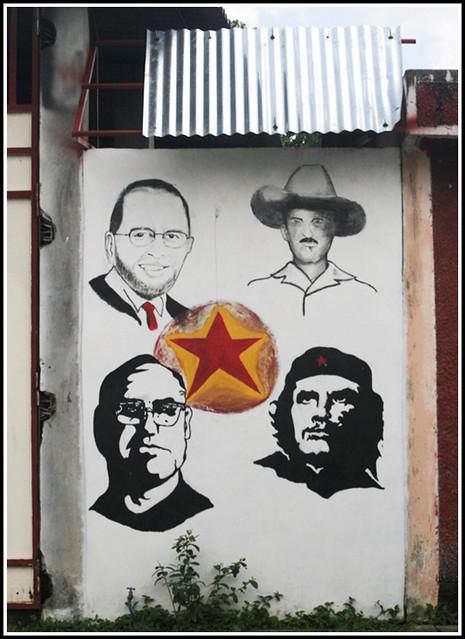 El Salvador Political Art