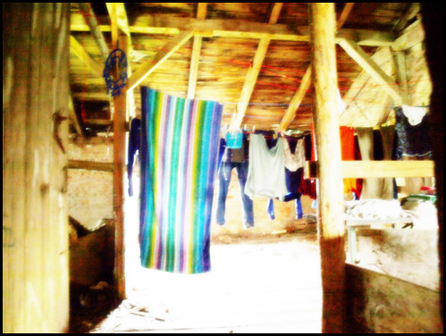 Trocknen der Wäsche