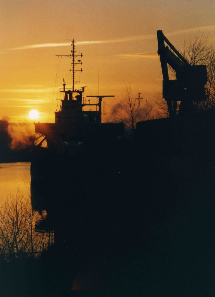 Manchester Ship Canal at Sunsert | Seán Murray | Flickr
