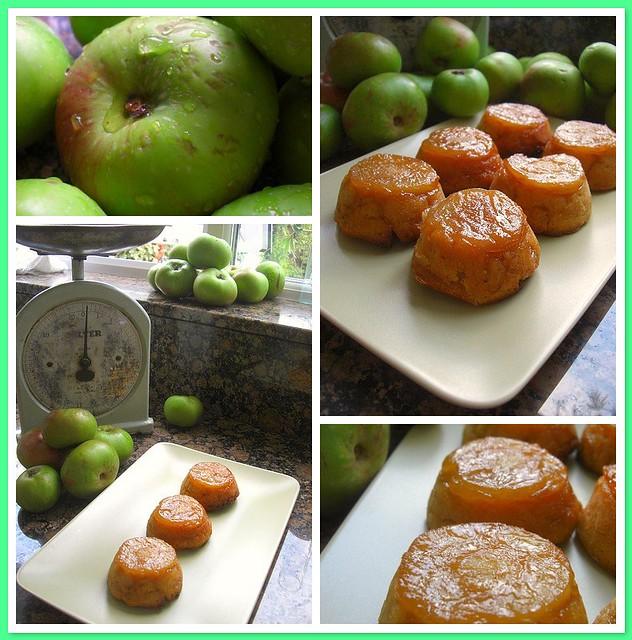 Caramel Apple Cakes (Thanks to 4GoodnessCake!)
