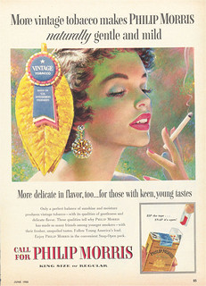 Colorful Philip Morris Cigarette Ad 1 | by MsBlueSky