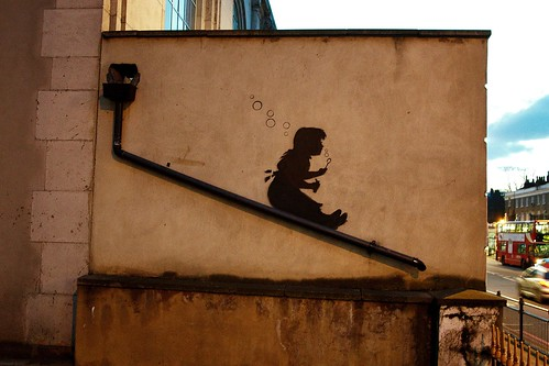 Banksy - Bubbles | by HowAboutNo!