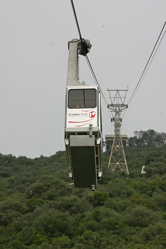 Cable car on the Rock of Gibraltar | by Gerald Davison