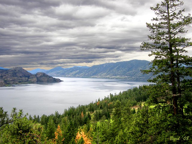 The Elbow of Lake Okanagan