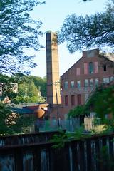match factory smoke stack