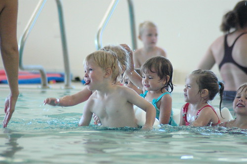 day 1486: first day of swimming lessons! | by snowdeal