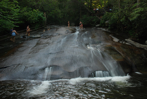 sliding rock nc | by Kennesaw S.