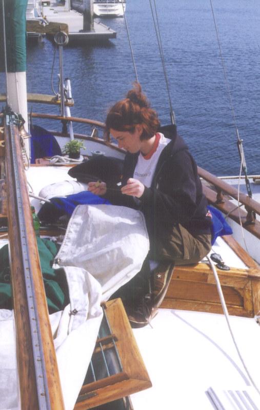 Sail Mending
