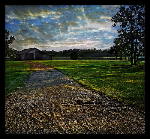 road parish barn landscape living louisiana country gravel livingston