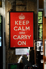 Keep Calm and Carry On | by Martin Burns