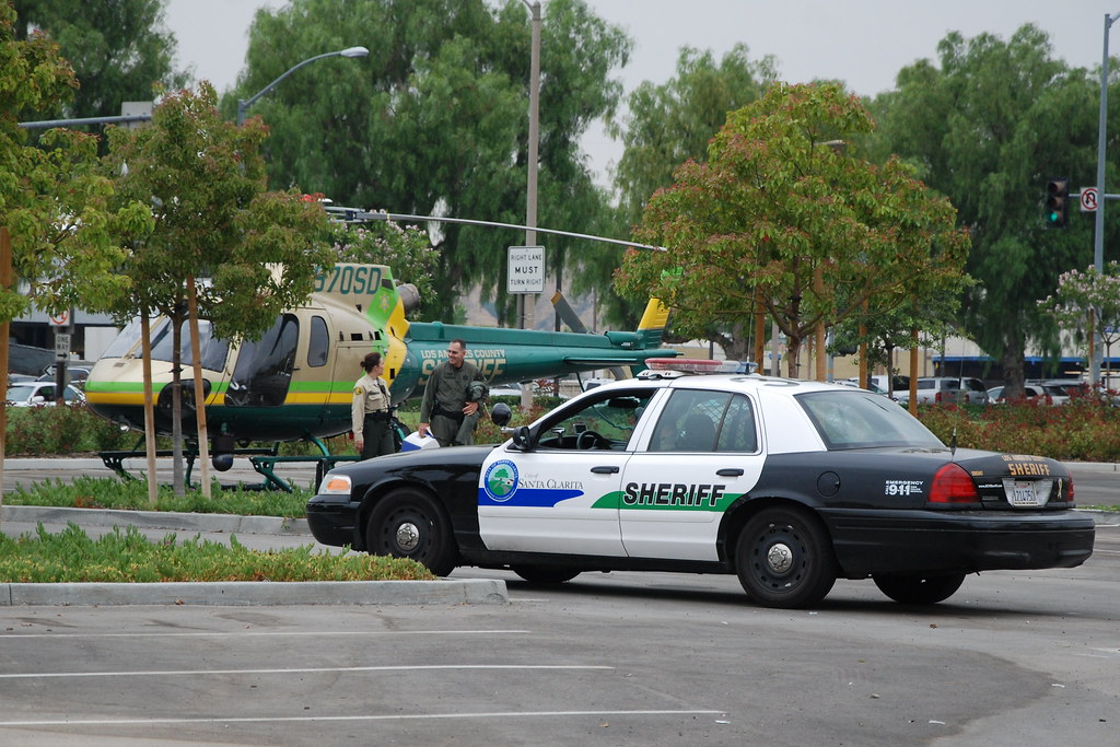 LOS ANGELES COUNTY SHERIFF'S DEPARTMENT (LASD) HELICOPTER