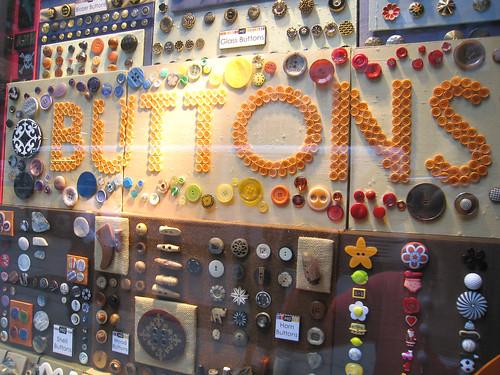 Storefront of M&J Buttons | by katy elliott