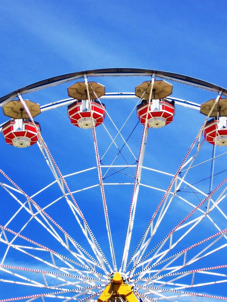 Calgary Stampede Ferris Wheel Madeline Krentz Flickr