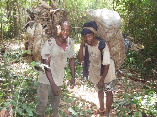 two more bushmeat transporters