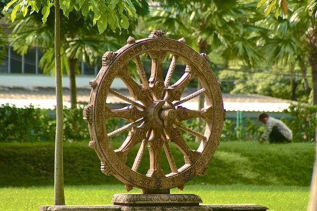 Wheel in Benjakiti Park in Bangkok