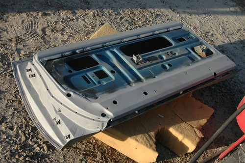 sandblasting doors 3   by Tolley's Charger