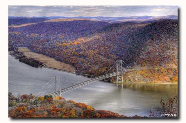 Bear Mountain Bridge HDR