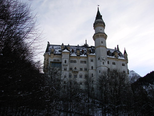 2008-12-09 Wieskirche, Steingaden, Neuschwanstein 040 Schloss Neuschwanstein   by Allie_Caulfield